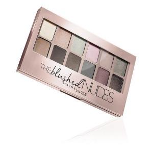 Paleta de Sombras de Ojos The Blushed Nudes Maybelline (9,6 g)