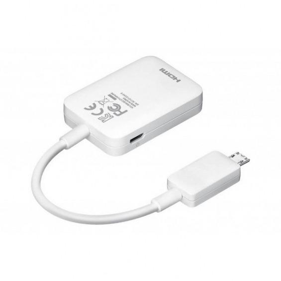 Adaptador microUSB a HDMI MHL SAMSUNG S3 y S4