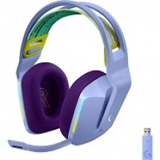 Logitech G733 LIGHTSPEED Wireless RGB Gaming Headset - Auricular - 7.1 canales - tamaño completo - 2,4 GHz - inalámbrico - lila