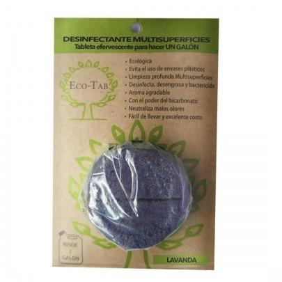Desinfectante Ecológico en Pastilla Marca Eco-Tab Lavanda
