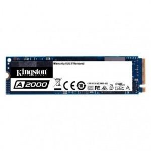 DISCO SÓLIDO KINGSTON SA2000M8 500GB - PCIE GEN 3.0 - M.2 2280 - LECTURA 2200MB/S - ESCRITURA 1500MB/S