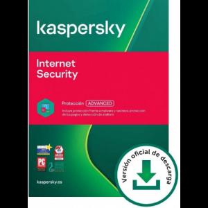 Kaspersky Internet Security: 5 Dispositivos / 1 año