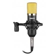 CM400 Microfono de estudio de condensador negro/oro