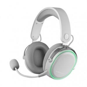 Auriculares Gaming con Micrófono Inalámbricos Mars Gaming MHW/ Jack 3.5/ USB 2.0/ Blancos