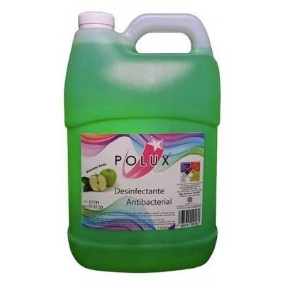 Desinfectante POLUX Manzana Verde Galón