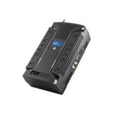 Forza HT Series HT-1000LCD - UPS - AC 120 V - 500 Watt - 1000 VA 9 Ah - output connectors: 12