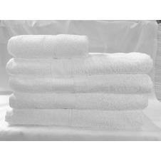 Toalla de baño Cantel , 100% Algodon , Absorbente , color Blanco , medida 29x58 Pulgadas