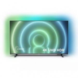 "Televisor Philips 65PUS7906 65""/ Ultra HD 4K/ Ambilight/ Smart TV/ WiFi/ Gris"