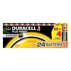 Pilas DURACELL Plus Power (24 pcs) (Reacondicionado A+)