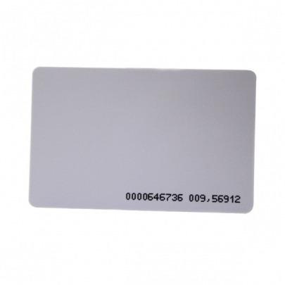 ZKTeco - Thin EM Card - Proximity card - 125kHz - Maximum Read Range: 2-15cm - Dimensions: 54W x 86L x 0,76H mm - PVC