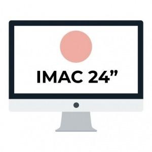 "Apple iMac 24"" Retina 4.5K/ Chip M1 CPU 8 Núcleos/ 8GB/ 512GB/ GPU 8 Núcleos / Rosa"