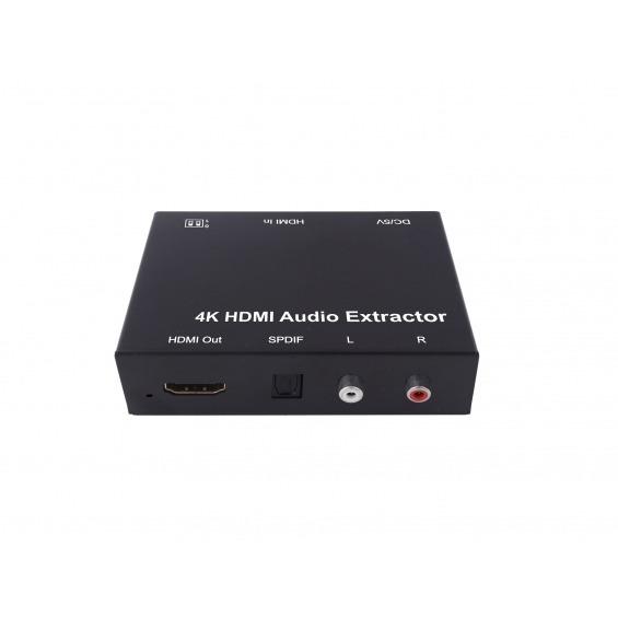 Extractor de audio HDMI a Toslink y RCA