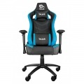 Talius silla Vulture gaming negra/azul butterfly, 4D, base metal, ruedas nylon
