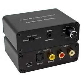 Conversor Audio Digital a Analógico con control de volumen