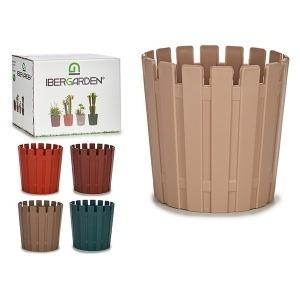 Maceta Mini Plástico (13,5 x 12,5 x 13,5 cm)