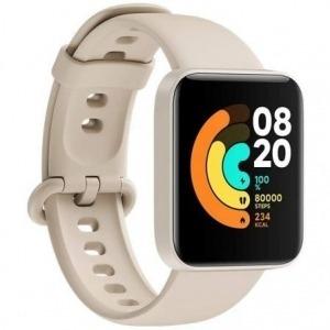 Smartwatch Xiaomi Mi Watch Lite/ Notificaciones/ Frecuencia Cardíaca/ GPS/ Marfil