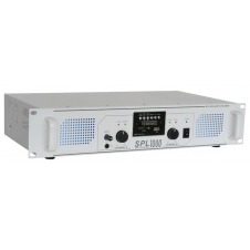 SPL 1000MP3 Amplificador con LEDs azules + EQ Blanco
