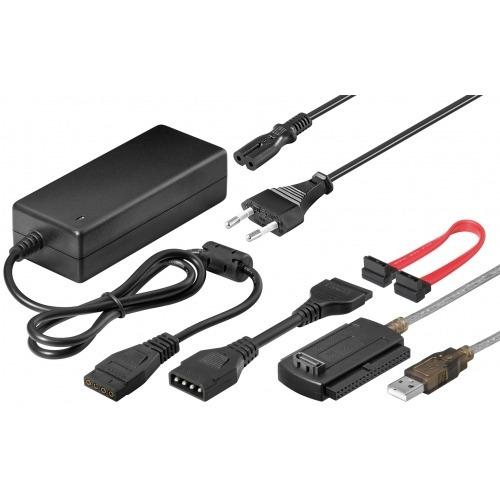 Kit Conexion SATA/IDE-HDD a USB 2.0 (Con fuente)