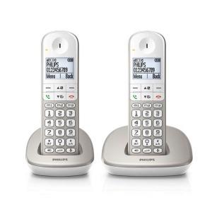 "Teléfono Inalámbrico Philips XL4902S/22 1,9"" 550 mAh GAP (2 pcs) Blanco"
