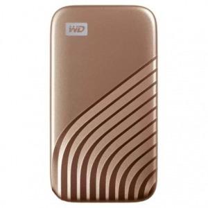 Disco Externo SSD Western Digital My Passport SSD 500GB/ USB 3.2/ Dorado