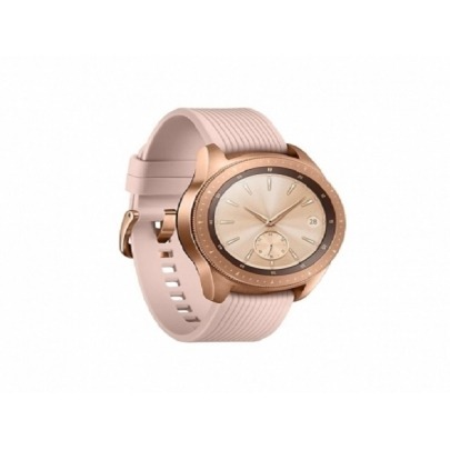 Samsung - Smart watch - SM-R810NZDATPA - Rose gold - Bluetooth - RAM (GB) 0.75 - Available Memory (GB) * 1.5 GB - Battery Capacity 270mAh - Time of use in hours (45) - Audio and video