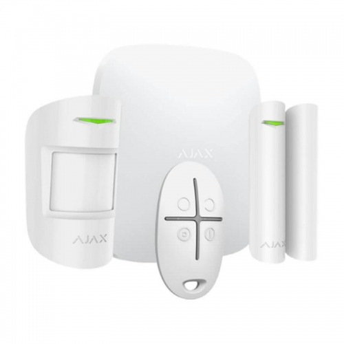 Kit de alarma profesional, Certificado Grado 2, Comunicación Ethernet y GPRS, Inalámbrico 868 MHz Jeweller, Hasta 100 entradas inalámbricas, App Móvil y Software PC