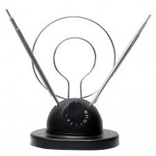 Antena para Interiores HD/DTV/UHF/VHF/FM MARCA QFX