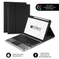 Funda con Teclado Subblim Keytab Pro Bluetooth Touchpad para Tablets Apple iPad Pro de 11