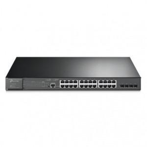 Switch TP-Link Gigabit L2 JetStream TL-SG3428MP 28 Puertos/ RJ-45 10/100/1000 PoE/ SFP