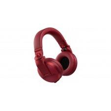 Pioneer Dj HDJ-X5BT R Rojo Auricular Dj Bluetooth
