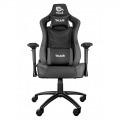 Talius silla Vulture gaming negra/gris butterfly, 4D, base metal, ruedas nylon