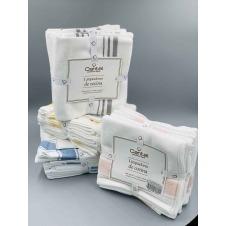 Limpiador Clasico Cantel , Limpiador de cocina , Absorbente , color Peach/Blanco, medida 50x75 Pulgadas