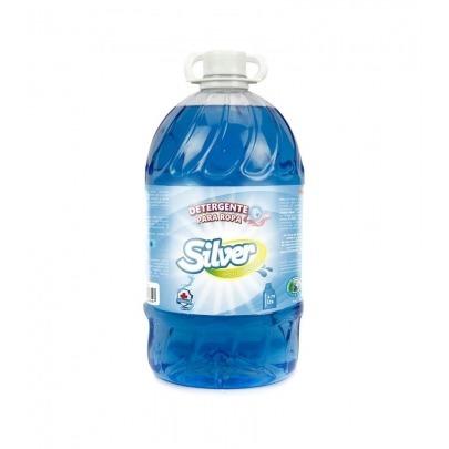 Detergente para Ropa HD Marca Silver de 1 Galón