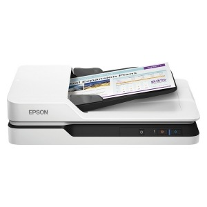 Escáner Epson WorkForce DS-1630 LED 300 dpi LAN Blanco