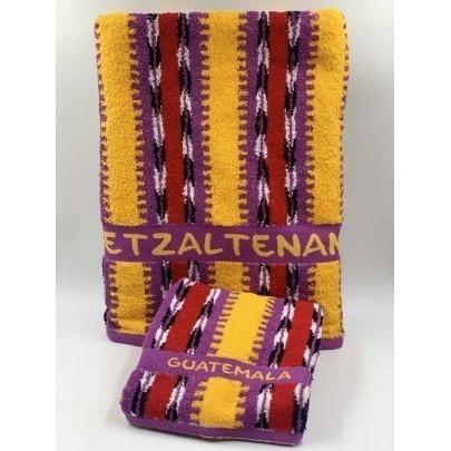 Toalla de Manos con Diseño Típico de Quetzaltenango Marca Cantel