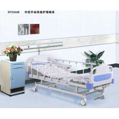 Cama Hospitalaria Manual de Dos Movimientos Medical Care