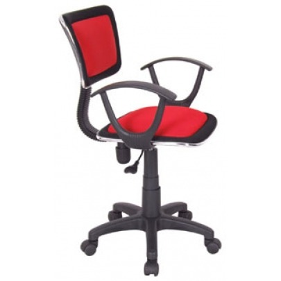 Manager Chair w/Arm Rest (Roma) - Red