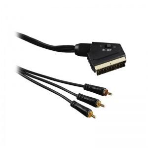 Cable Hama Technics 39122163 1,5 m Negro