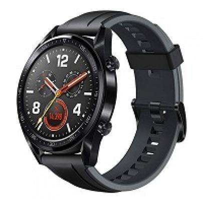 Huawei Watch GT 2 Sport - Smart watch - Bluetooth - Matte black - Latona