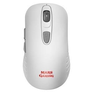 Ratón Gaming Mars Gaming MMW2W Blanco RGB 3200 dpi