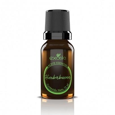 Aceite Esencial de Hierbabuena de 12ml Marca Exotik Nat