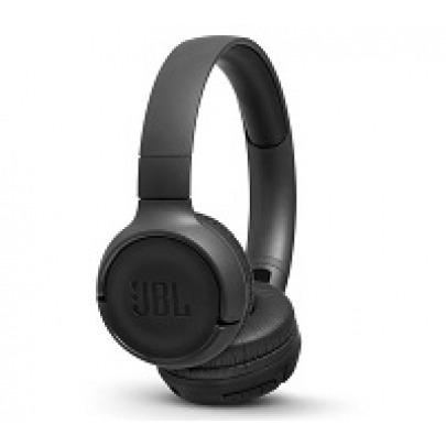JBL LIVE 500BT - Headphones with mic - full size - Bluetooth - wireless - black