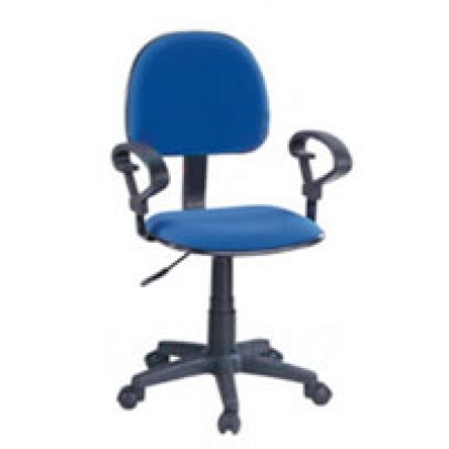 Computer Chair w/ Arm Rest (Blue)
