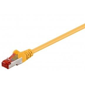 Cable Ethernet FTP CAT6 AMARILLO 0.25m.