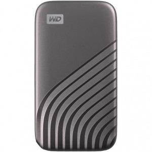 Disco Externo SSD Western Digital My Passport SSD 500GB/ USB 3.2/ Gris