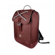 Klip Xtreme - Notebook carrying backpack - 1680D polyester - Business red - 14.1in Slim laptops