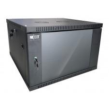 Nexxt Solutions SKD - Armario - instalable en pared - negro, RAL 9005 - 6U - 19