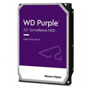 "Disco Duro Western Digital WD Purple Surveillance 4TB/ 3.5""/ SATA III/ 64MB"