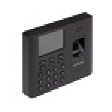 Hikvision DS-K1A802MF - Time clock system - fingerprint, RFID - 3000 employees - Ethernet, USB, Wi-Fi - black