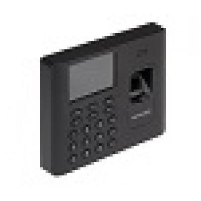 Hikvision DS-K1A802MF - Time clock system - fingerprint, RFID - 3000 employees - Ethernet, USB, Wi-Fi - black